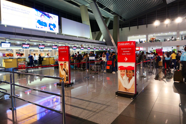 Emirates Business Class Check-in