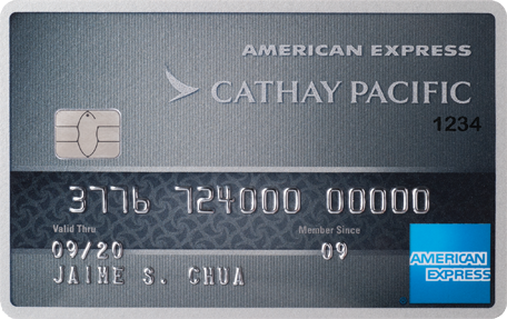 BDO Cathay Pacific American Express Elite
