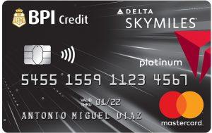 BPI Sky Miles Platinum