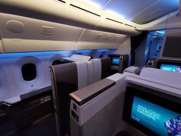 Oman Air First Class Cabin
