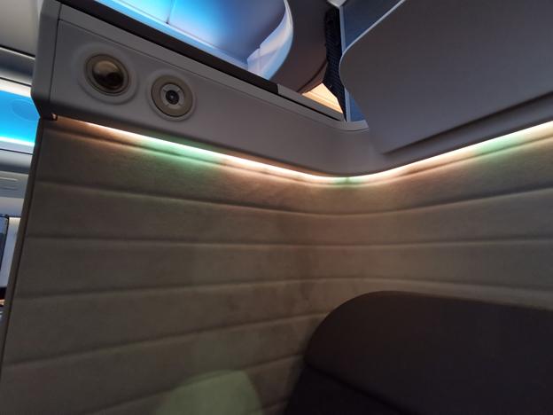 First Class Seat Lighting