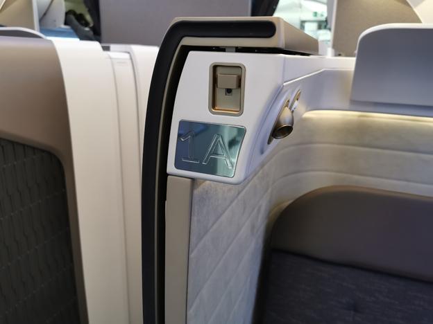 First Class Seat Designation