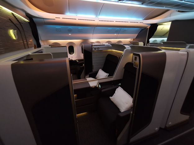 First Class Middle Seats