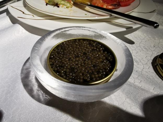 First Class Caviar Service