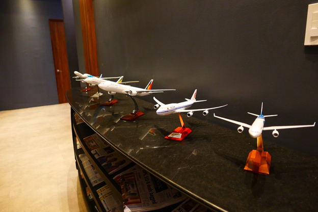 PAGSS Lounge Aircraft Display