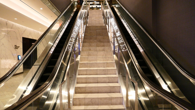 Lounge Escalator