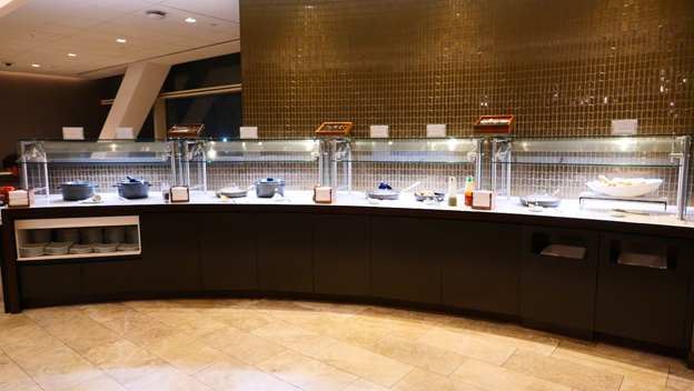 Polaris Lounge Buffet Area