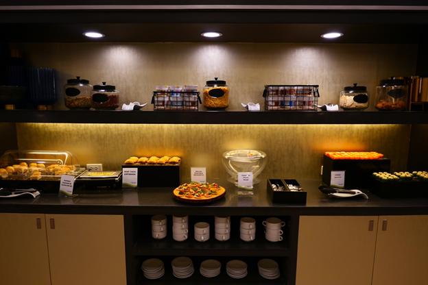 PAGSS Lounge Snacks Table