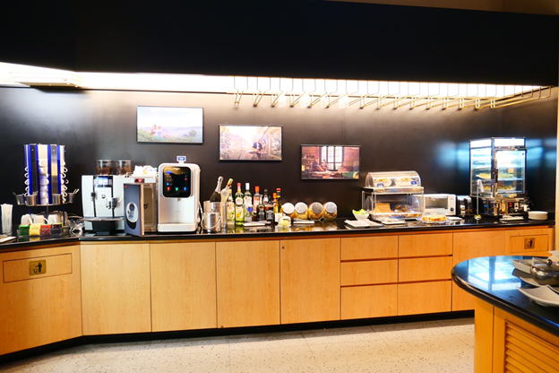 Snack and Beverage Area