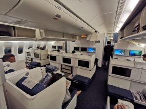 PAL Business Class Cabin