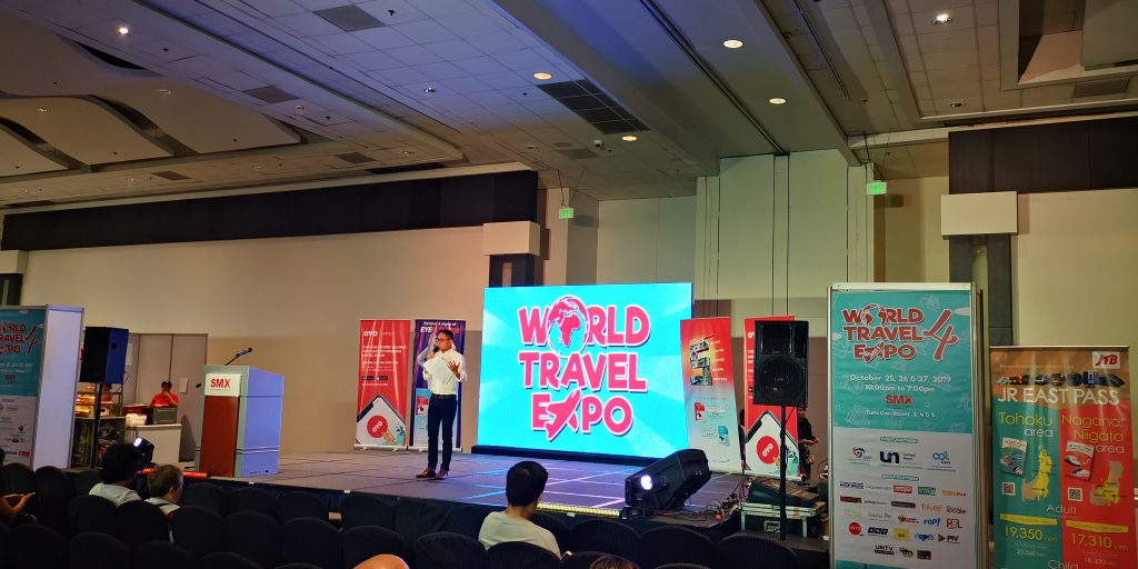 World Travel Expo Stage