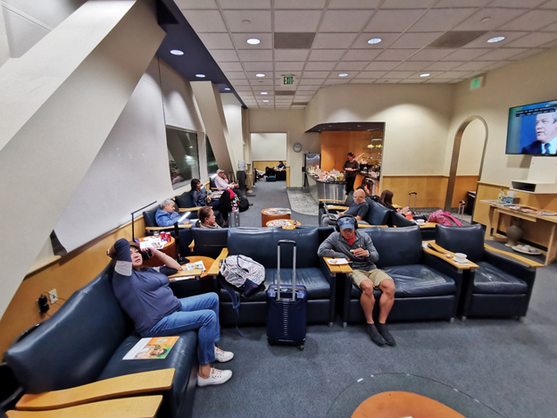 Mabuhay Lounge SFO Interior