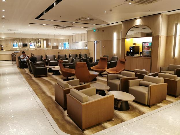 Plaza Premium Lounge Interior