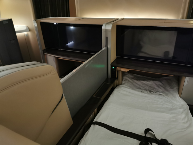 Singapore Airlines First Class Seat