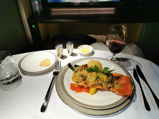 First Class Meal Service