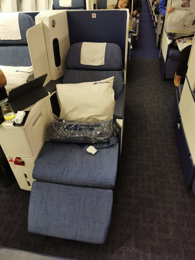 Philippine Airlines Business Class Angled Seat