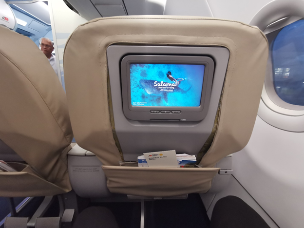 Business Class Seat Back IFE Screen