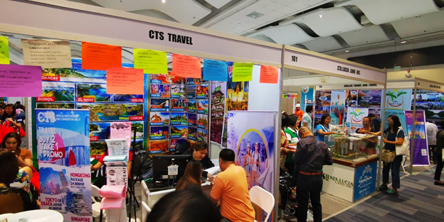 Travel Agency Booths