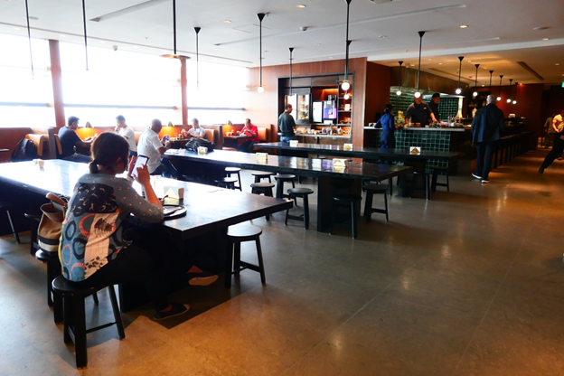 Cathay Pacific Lounge Interior