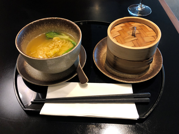 Cathay Pacific Lounge Ala Carte Meal