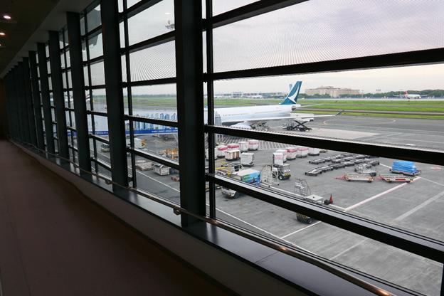 Cathay Pacific Aircraft View