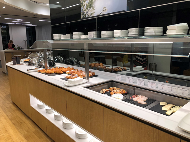 Lufthansa Buffet Selection
