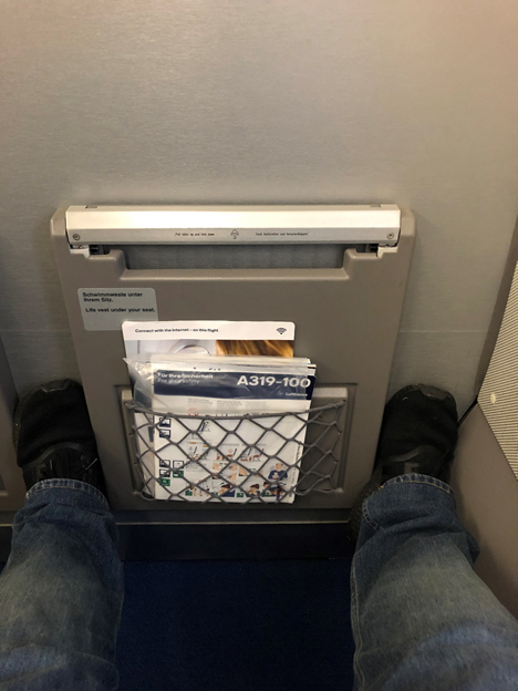 Business Class Legroom