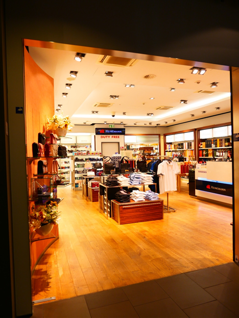 Lufthansa First Class Terminal Duty Free Shop