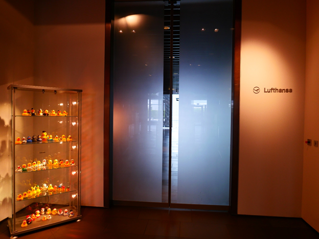 Lufthansa First Class Terminal Lounge Entrance