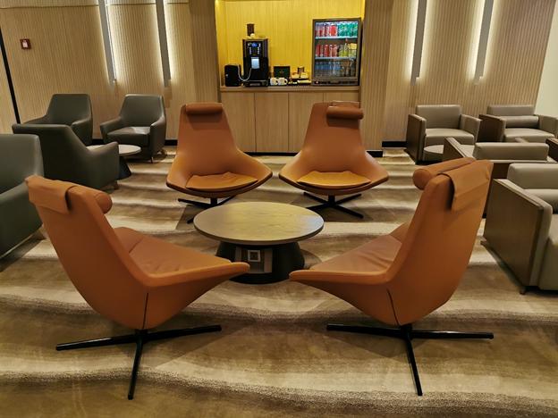 Plaza Premium chairs