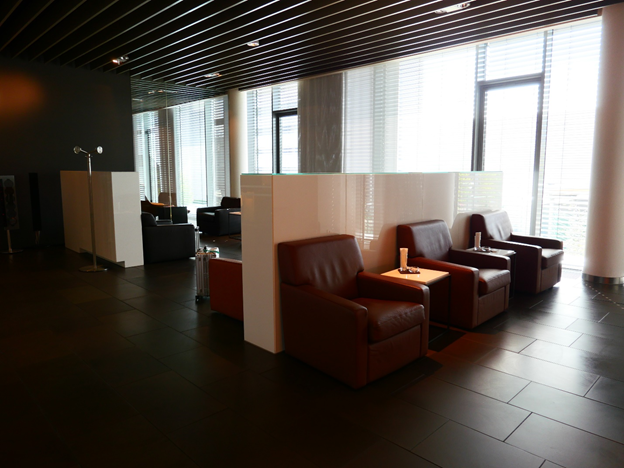 Lufthansa First Class Terminal Seating Area