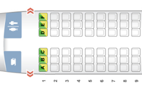 Cebu Pacific Seat Plan