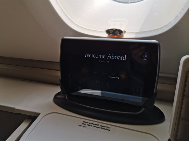 In-flight Tablet