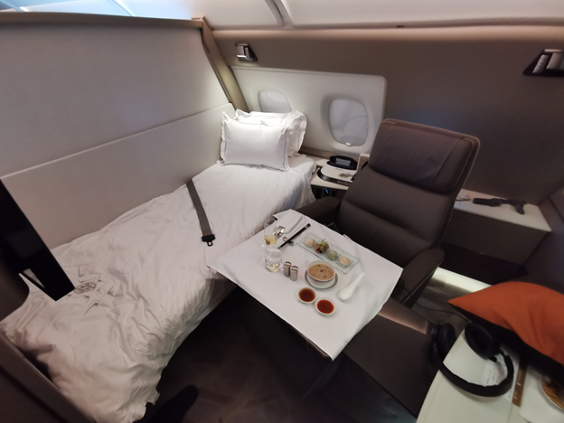 First Class Suite with Single Bed Setup