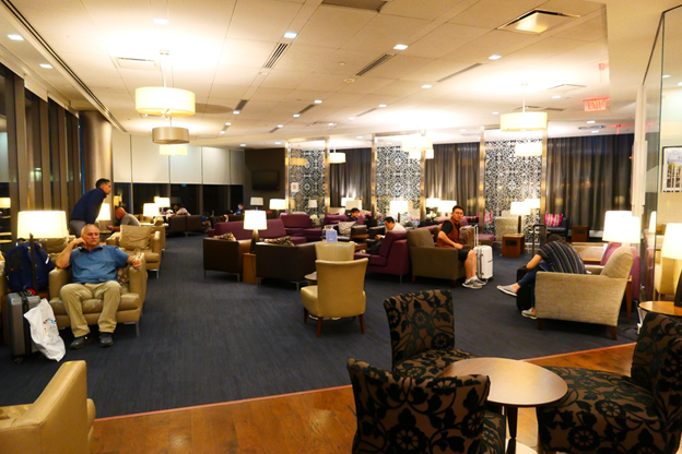 British Airways Galleries Lounge Seating Area