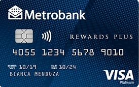 Rewards Plus Visa