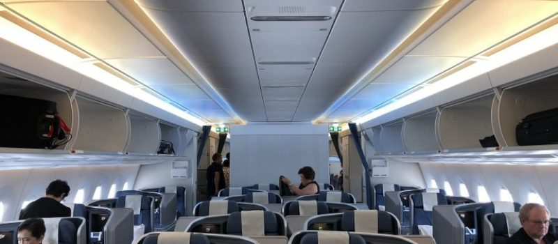 Philippine Airlines Business Class Cabin