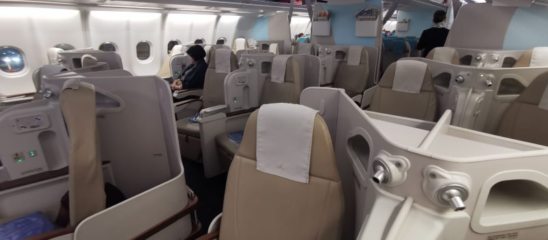 PAL A330 Business Class Cabin